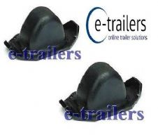 2 x Trailer Parabolic Leaf Spring Rubber Bump Stop same as C80315 Ifor Williams
